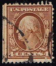 Buy US #334 George Washington; Used (1.50) (0Stars) |USA0334-06