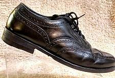 Buy Florsheim Lexington Black Leather Wingtip Lace Up Oxfords Dress Shoes Men's 10 D