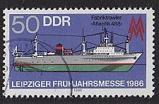 Buy GERMANY DDR [1986] MiNr 3004 ( OO/used ) Schiffe