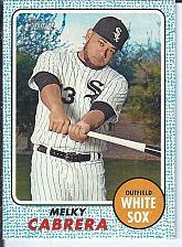 Buy Melky Cabrera 2017 Topps Heritage Blue Parallel