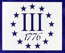 Buy 13 Star Field 3 Percent/1776 Stencil 14 Mil -8 x 10 Inches