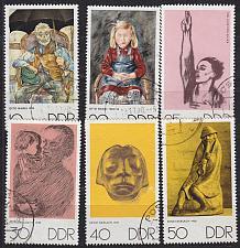 Buy GERMANY DDR [1970] MiNr 1607-12 ( OO/used ) Kunst
