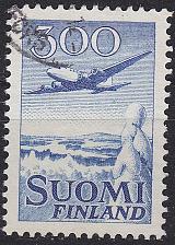 Buy FINLAND SOUMI [1958] MiNr 0488 ( O/used ) Flugzeug