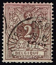 Buy Belgium #55 Numeral; Used (1Stars)  BEL0055-04XRS