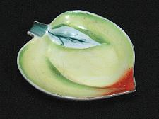 Buy Porcelain Peach Figural Ashtray Snuffer Japan Fruit Plum Vintage