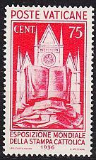 Buy VATIKAN VATICAN [1936] MiNr 0055 ( */mh )