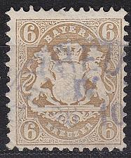 Buy GERMANY Bayern Bavaria [1870] MiNr 0024 X ( O/used ) [01]