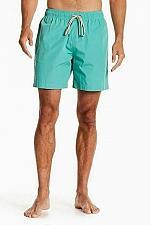Buy FAHERTY BRAND Beacon Drawstring Swim Trunks Sea Green Size Small NWOT