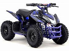 Buy 24V Blue Electric Battery Four Wheeler Boys Girls Kids Mini ATV Dirt Bike Titan
