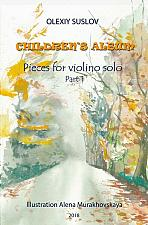 Buy Suslov - Children's Album for Violin Solo