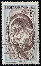 Buy Czechoslovakia #819 Brown Bear; CTO (0.25) (4Stars) |CZE0819-01