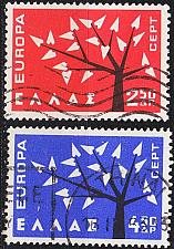 Buy GRIECHENLAND GREECE [1962] MiNr 0796-97 ( O/used ) CEPT