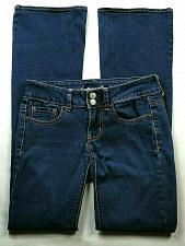 Buy American Eagle Women's Artist Jeans Super Stretch 0 Regular Flare Dark Wash