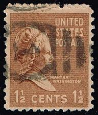 Buy US #805 Martha Washington; Used (0.25) (1Stars) |USA0805-08XRS