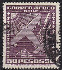 Buy CHILE [1934] MiNr 0219 b ( O/used ) Flugzeuge