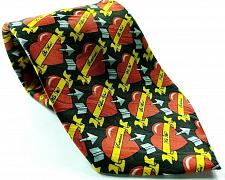 Buy Valentine Heart With Arrow Love You Kiss Me Be Mine Sweetheart Novelty Tie