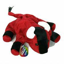 "Buy NWT Oriental Trading Bullet Red Bull Farm Animal Plush 10.5"""