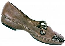 Buy Clarks Women's 73876 Brown Leather Slip On Mary Jane Loafer Shoes Size 8.5 M