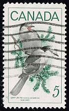 Buy Canada #478 Gray Jays; Used (3Stars) |CAN0478-04XRS