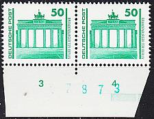 Buy GERMANY DDR [1990] MiNr 3346 2er ( **/mnh ) [01] Architektur