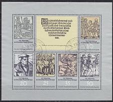 Buy GERMANY DDR [1975] MiNr 2013-18 Kleinbogen ( OO/used )