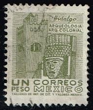 Buy Mexico #950 Convent and Carved Head; Used (0.25) (3Stars) |MEX0950-02XRS