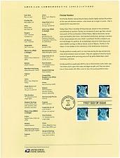 Buy US #SP1638 (4137;4139;4141-42) Florida Panther Souvenir Page (4Stars) |USASP1638-01