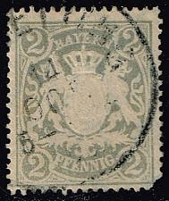 Buy Germany-Bavaria #58 Coat of Arms; Used (0.55) (2Stars) |BAY058-01XVA