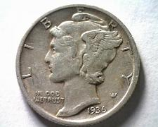 Buy 1936-D MERCURY DIME EXTRA FINE XF EXTREMELY FINE EF NICE ORIGINAL COIN BOBS COIN