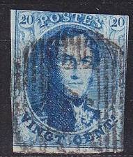 Buy BELGIEN BELGIUM [1858] MiNr 0008 I ( O/used ) [01]
