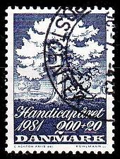 Buy DÄNEMARK DANMARK [1981] MiNr 0739 ( O/used ) Pflanzen