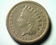 Buy 1860 INDIAN CENT PENNY EXTRA FINE XF EXTREMELY FINE EF NICE ORIGINAL COIN