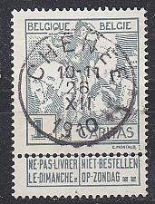 Buy BELGIEN BELGIUM [1910] MiNr 0081 I ( O/used )