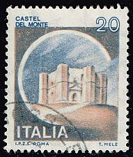 Buy Italy #1410 Del Monte Castle; Used (3Stars) |ITA1410-07