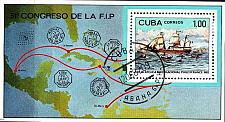 Buy KUBA CUBA [1982] MiNr 2665 Block 72 ( O/used ) Schiffe