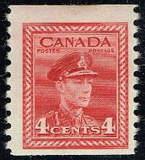 Buy Canada #267 King George VI; Unused (2Stars) |CAN0267-01XRP