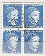 Buy SCHWEIZ SWITZERLAND [1963] MiNr 0786 y ( Ersttag-O ) [01] Pro Juventute 4er