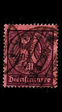 Buy GERMANY REICH Dienst [1922] MiNr 0073 ( O/used )