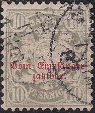 Buy GERMANY Bayern Bavaria [Porto] MiNr 0006 ( O/used ) [03]