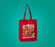 Buy New Hello Kitty Gudetama Diner Classic Tote Sanrio Free Shipping