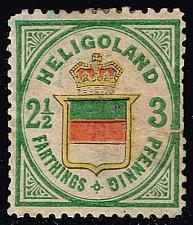 Buy Heligoland #20 Coat of Arms - Hamburg Reprint (0Stars) |HEL20R-03XRS