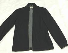 Buy Work Rest Karma W.R.K. Black Jacket Full zipper wool Knit blend shell Size S