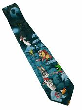 Buy Looney Tunes Outer Space Bugs Bunny Daffy Taz Tweety Marvin Necktie Novelty