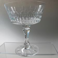 Buy Lenox Cut glass Flourish Crystal dessert Made in USA Mt Pleasant PA mouth blown