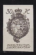 Buy LIECHTENSTEIN [1920] MiNr 0022 ( **/mnh )