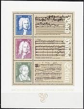 Buy GERMANY DDR [1985] MiNr 2931-33 Block 81 ( **/mnh ) Musik