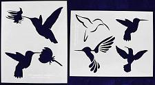 Buy Hummingbird Stencils - 2 pc Stencil set 8x10 14 Mil Mylar