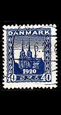 Buy DÄNEMARK DANMARK [1921] MiNr 0115 ( O/used ) Architektur