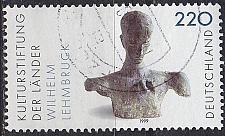 Buy GERMANY BUND [1999] MiNr 2064 ( O/used ) Kunst