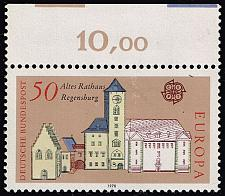 Buy Germany #1271 Regensburg City Hall; Unused (2Stars) |DEU1271-01XRS